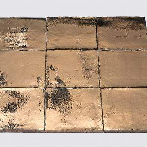 DTG Mooi Wonen Wandtegels Oud Hollandse Witjes Handvorm Gold 13x13